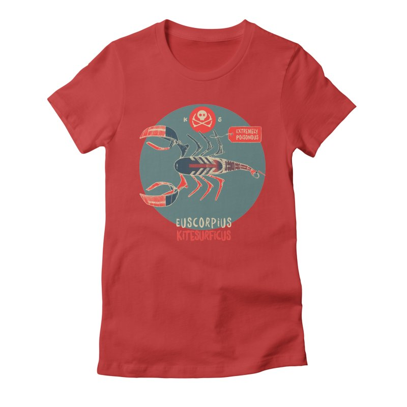 Scorpio Women's Fitted T-Shirt by kitersoze