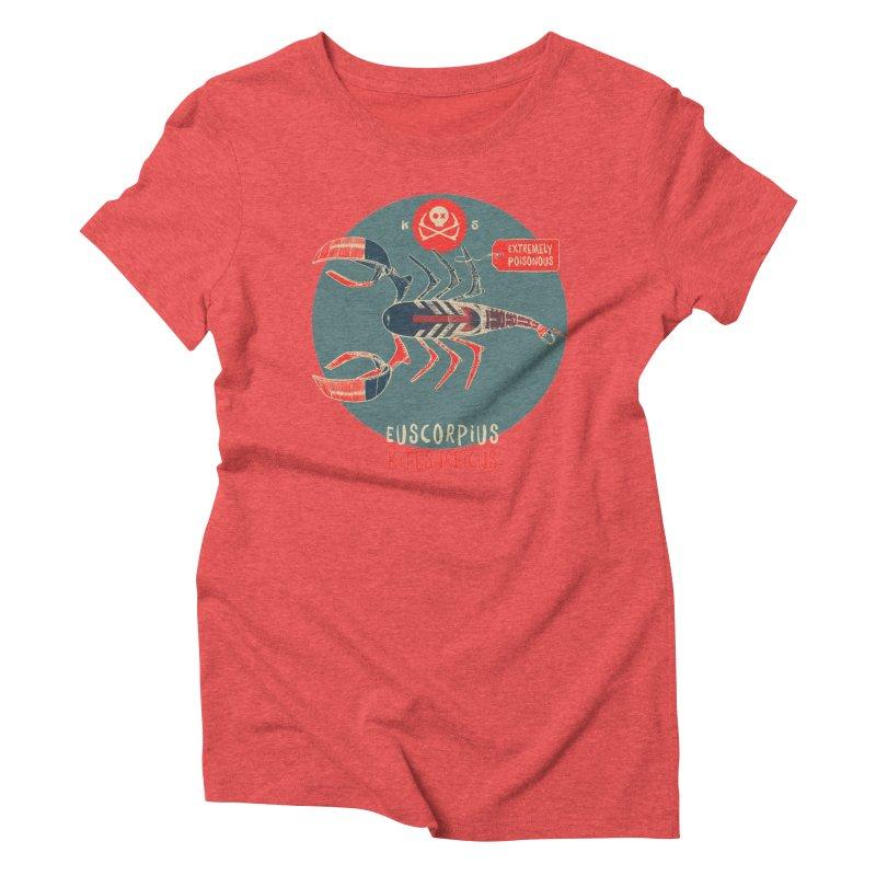 Scorpio Women's Triblend T-Shirt by kitersoze