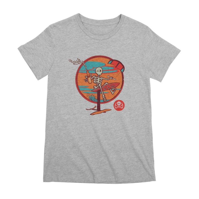Foil and Beer Women's Premium T-Shirt by kitersoze