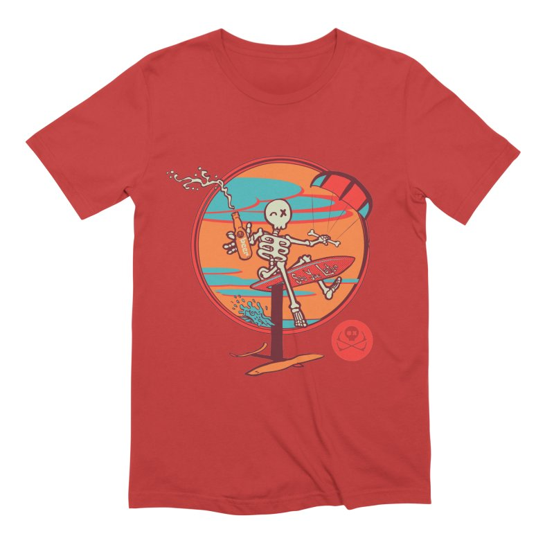 Foil and Beer Men's Extra Soft T-Shirt by kitersoze