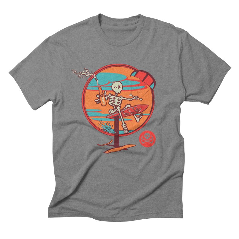 Foil and Beer Men's Triblend T-Shirt by kitersoze