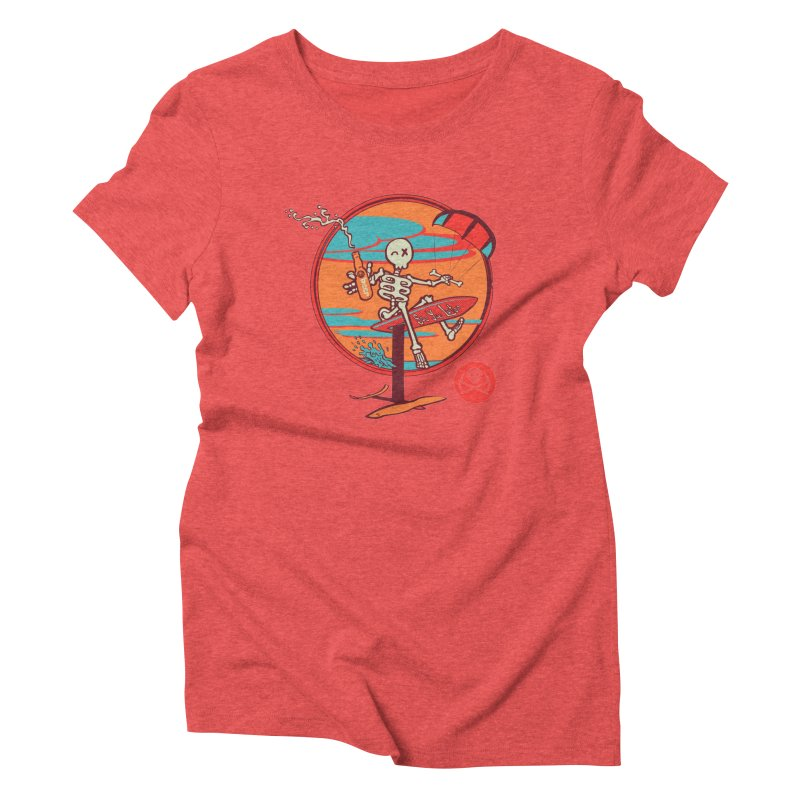 Foil and Beer Women's Triblend T-Shirt by kitersoze