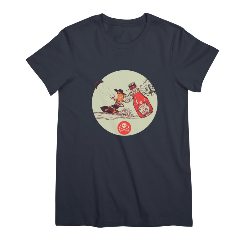 Roasted Taste Women's Premium T-Shirt by kitersoze