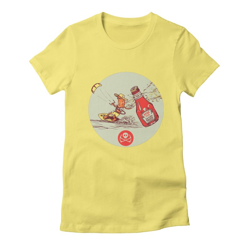 Roasted Taste Women's Fitted T-Shirt by kitersoze