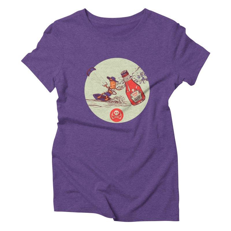 Roasted Taste Women's Triblend T-Shirt by kitersoze