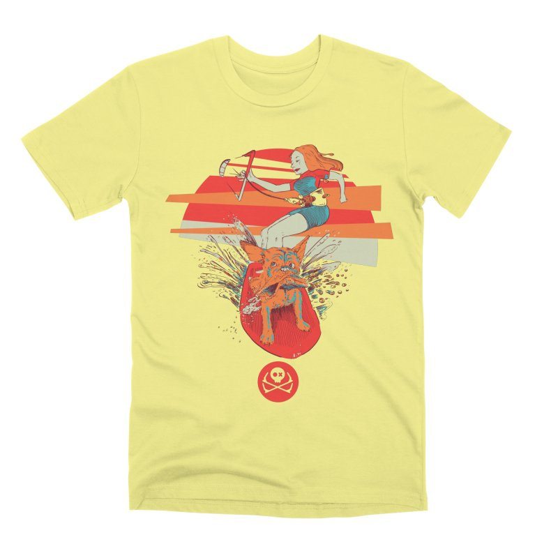 Kite Dog Men's Premium T-Shirt by kitersoze