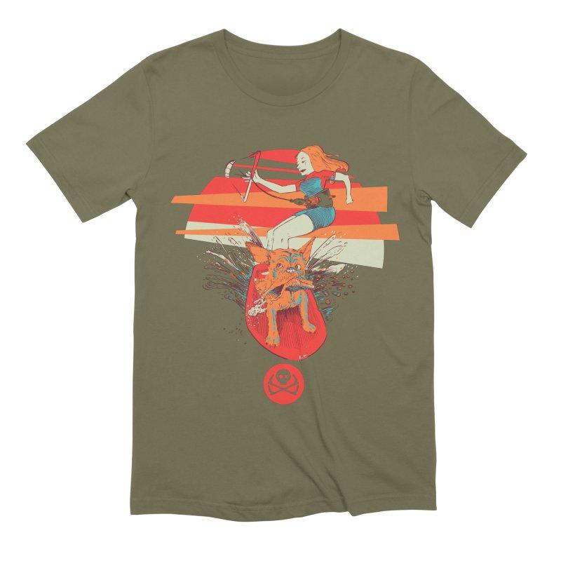 Kite Dog Men's Extra Soft T-Shirt by kitersoze