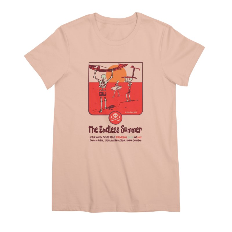 The Enderless Summer Women's Premium T-Shirt by kitersoze