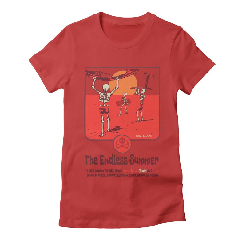 The Enderless Summer Women's Fitted T-Shirt by kitersoze