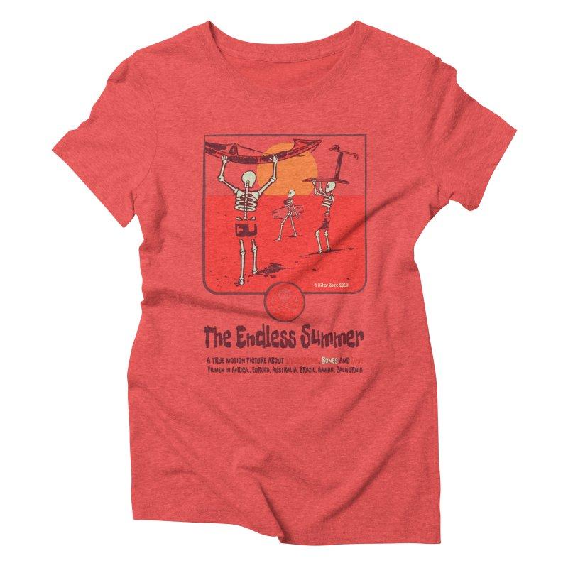 The Enderless Summer Women's Triblend T-Shirt by kitersoze