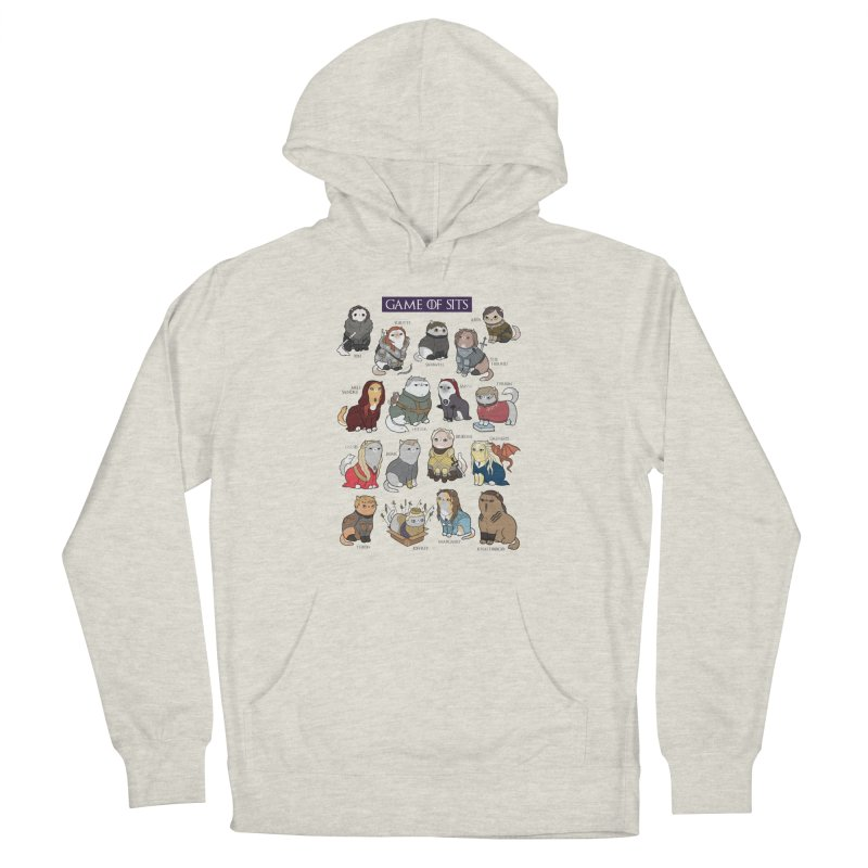 Game of Sits Men's Pullover Hoody by KittyCassandra's Artist Shop