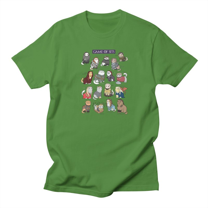 Game of Sits Men's T-Shirt by KittyCassandra's Artist Shop