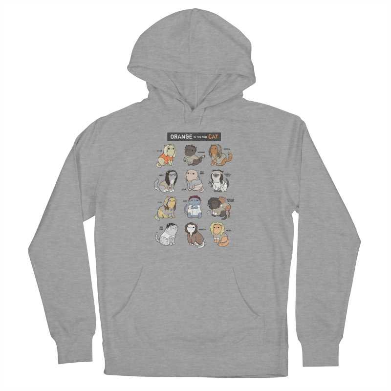 Orange is the New Cat Women's Pullover Hoody by KittyCassandra's Artist Shop
