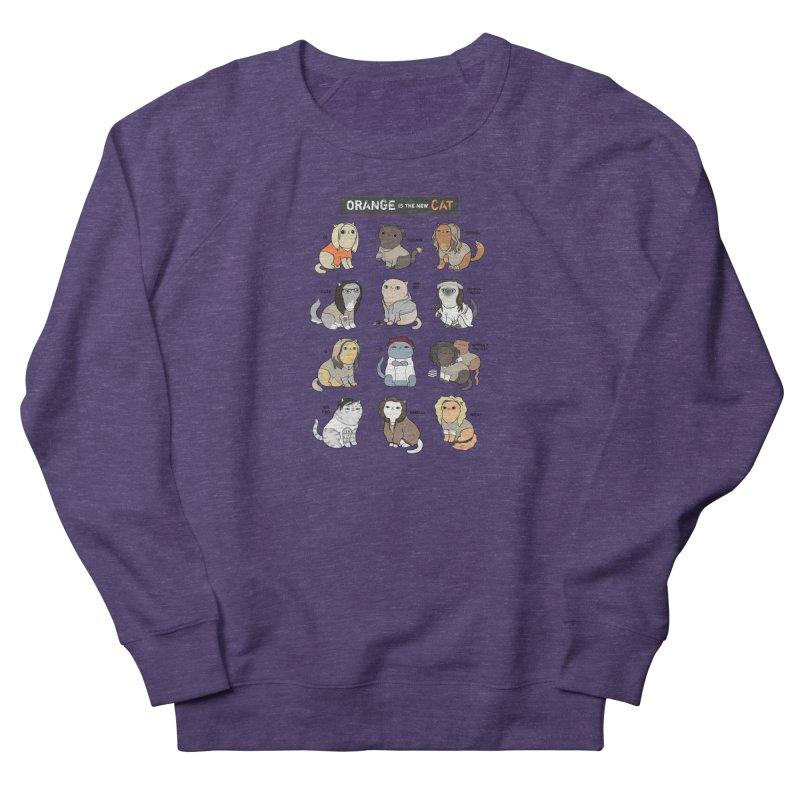 Orange is the New Cat Women's Sweatshirt by KittyCassandra's Artist Shop
