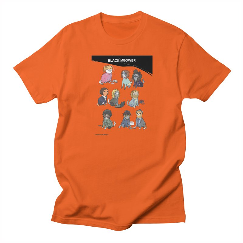 Black (Cat) Mirror Men's T-Shirt by KittyCassandra's Artist Shop