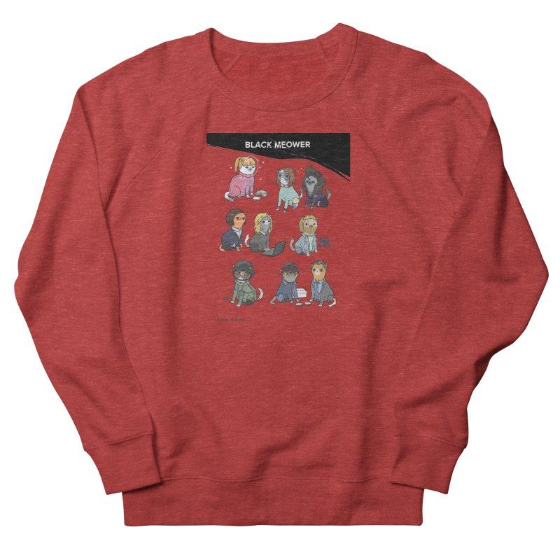 Black (Cat) Mirror Men's Sweatshirt by KittyCassandra's Artist Shop