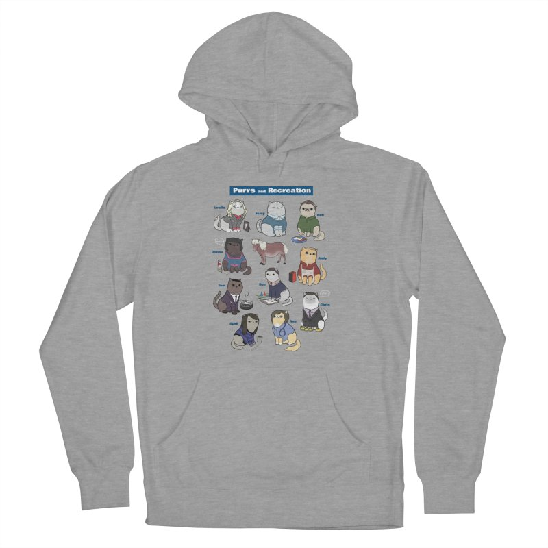 Purrs and Recreation Men's Pullover Hoody by KittyCassandra's Artist Shop