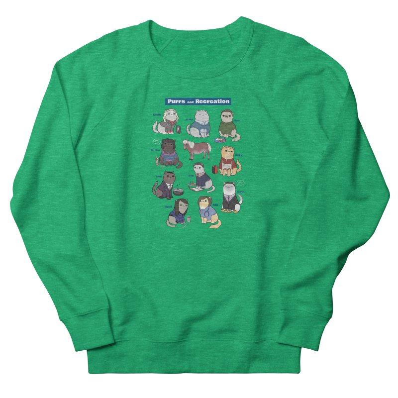 Purrs and Recreation Women's Sweatshirt by KittyCassandra's Artist Shop