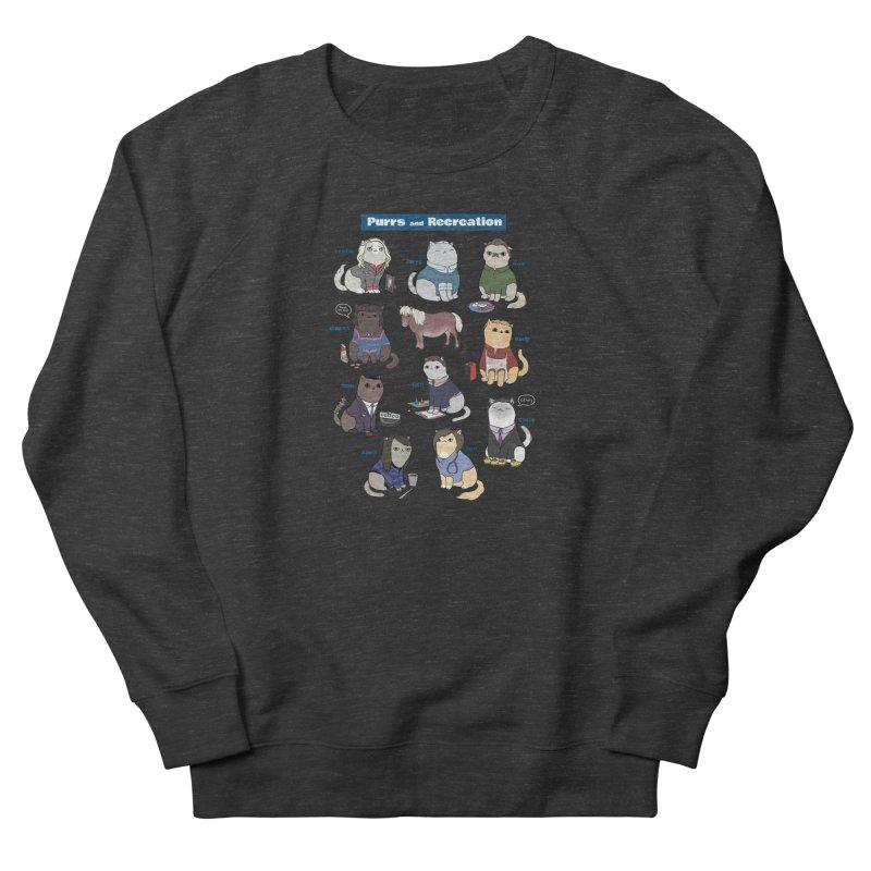 Purrs and Recreation Men's Sweatshirt by KittyCassandra's Artist Shop