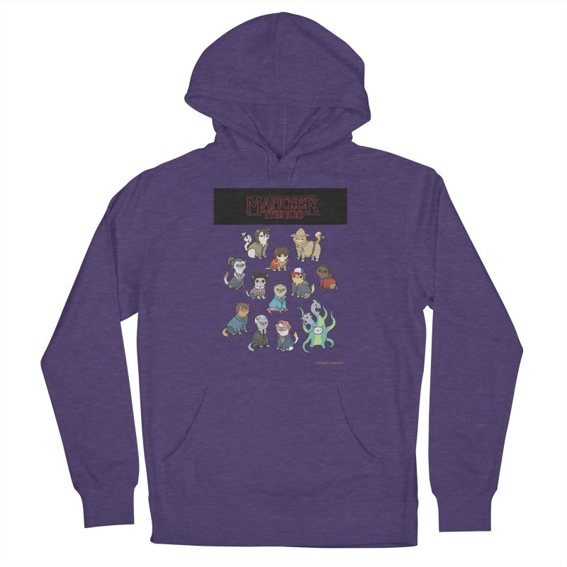 Mangier Things Women's Pullover Hoody by KittyCassandra's Artist Shop