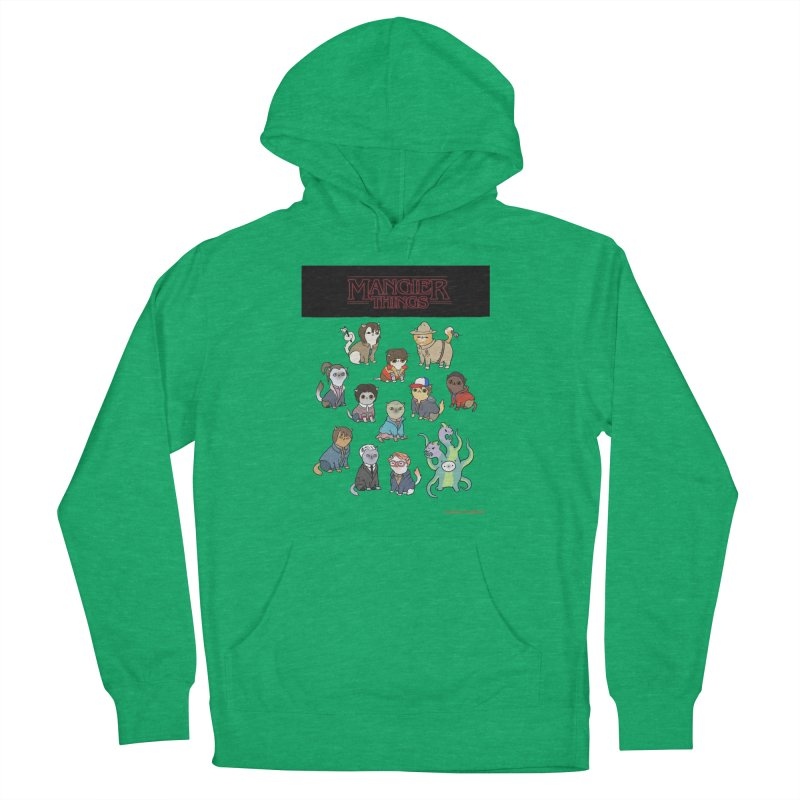Mangier Things Men's Pullover Hoody by KittyCassandra's Artist Shop
