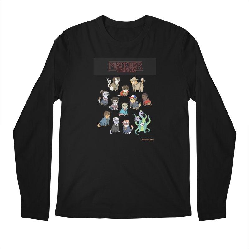 Mangier Things Men's Longsleeve T-Shirt by KittyCassandra's Artist Shop