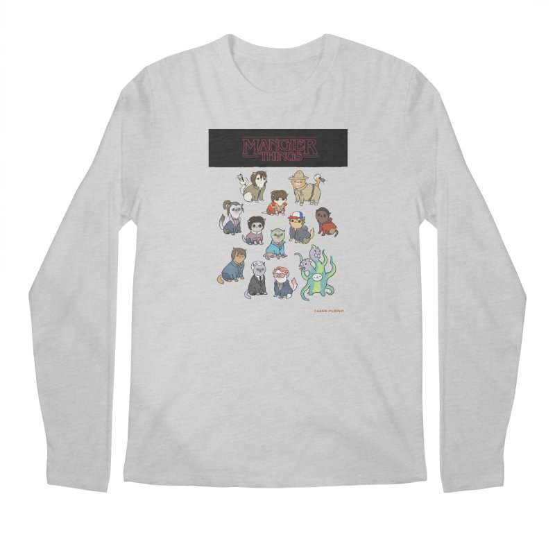 Mangier Things Men's Longsleeve T-Shirt by KittyCassandra's Artist Shop