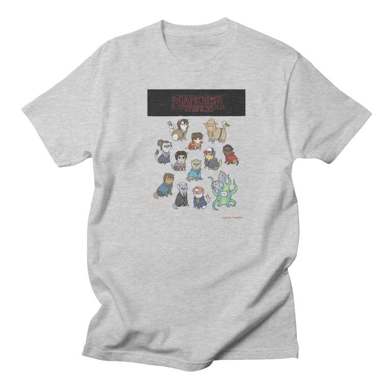 Mangier Things Men's T-shirt by KittyCassandra's Artist Shop
