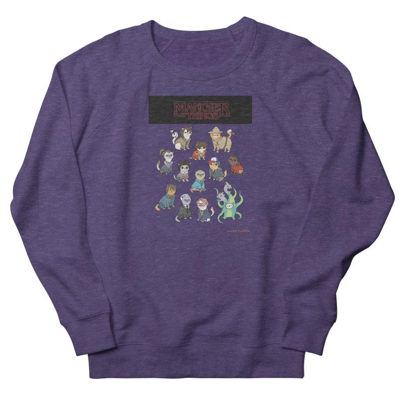 Mangier Things Men's Sweatshirt by KittyCassandra's Artist Shop