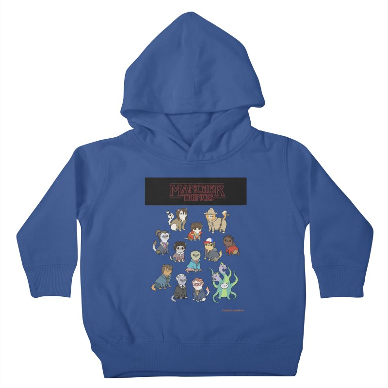 Mangier Things Kids Toddler Pullover Hoody by KittyCassandra's Artist Shop