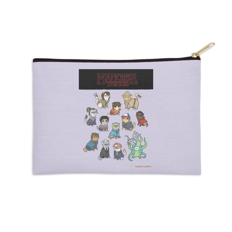 Mangier Things Accessories Zip Pouch by KittyCassandra's Artist Shop