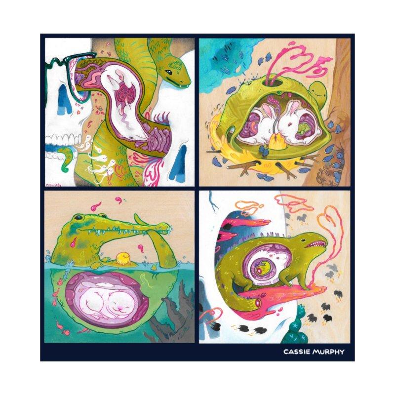 Reptile Nest Series by KittyCassandra's Artist Shop