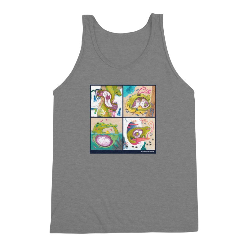 Reptile Nest Series Men's Triblend Tank by KittyCassandra's Artist Shop