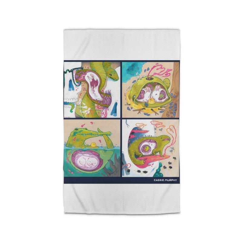 Reptile Nest Series Home Rug by KittyCassandra's Artist Shop