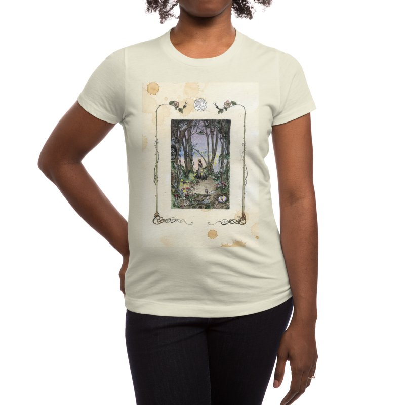 The Path Women's T-Shirt by kittygrimmdraws's Artist Shop