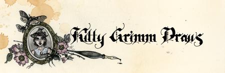 Logo for kittygrimmdraws's Artist Shop