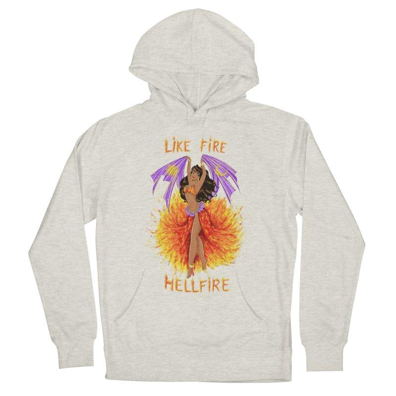Hellfire Women's Pullover Hoody by kktty's Artist Shop