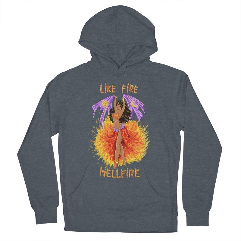 Hellfire Men's Pullover Hoody by kktty's Artist Shop