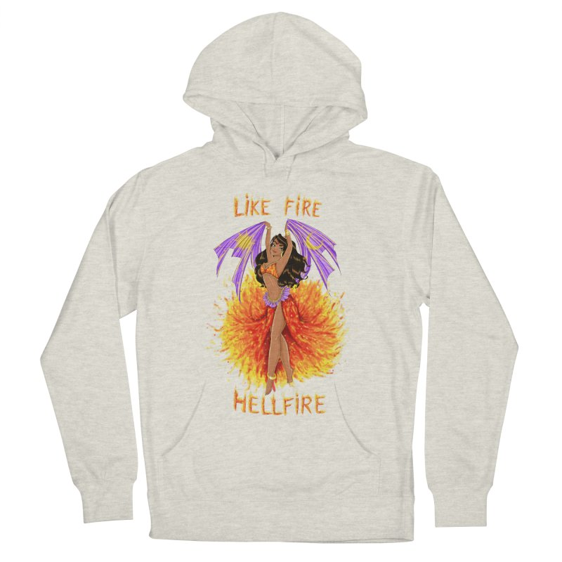 Hellfire Men's Pullover Hoody by kktty's Artist Shop