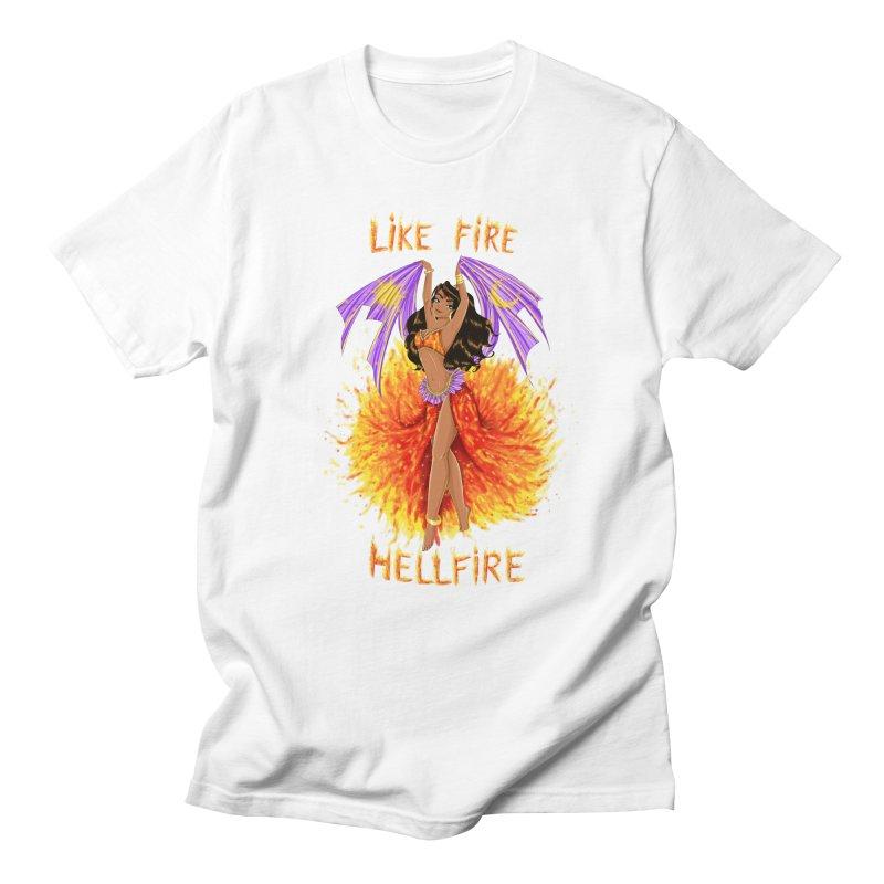 Hellfire Men's T-shirt by kktty's Artist Shop