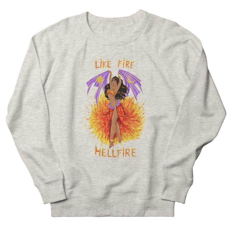 Hellfire Men's Sweatshirt by kktty's Artist Shop