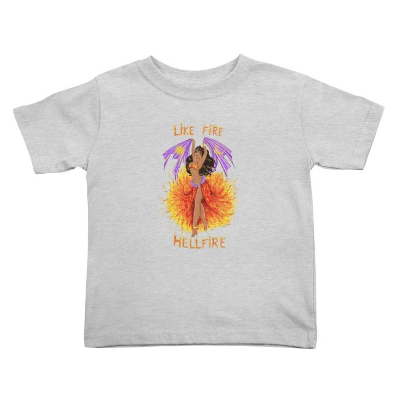 Hellfire Kids Toddler T-Shirt by kktty's Artist Shop