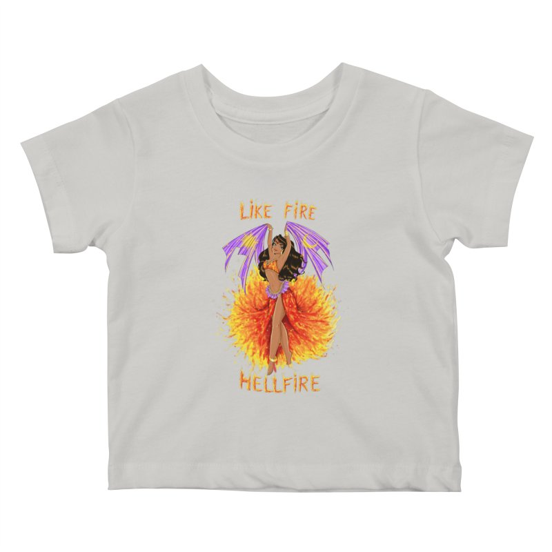 Hellfire Kids Baby T-Shirt by kktty's Artist Shop