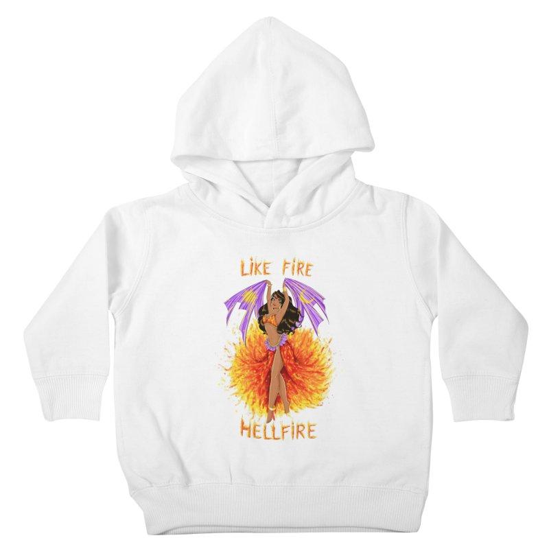 Hellfire Kids Toddler Pullover Hoody by kktty's Artist Shop