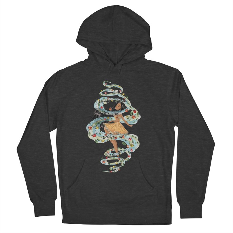 colors of the wind Women's Pullover Hoody by kktty's Artist Shop