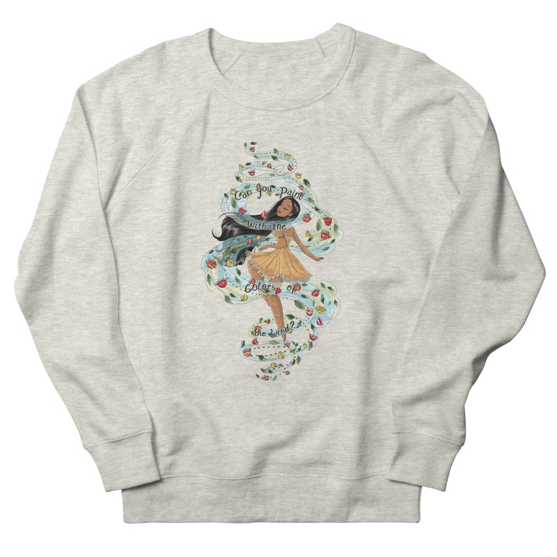 colors of the wind Women's Sweatshirt by kktty's Artist Shop
