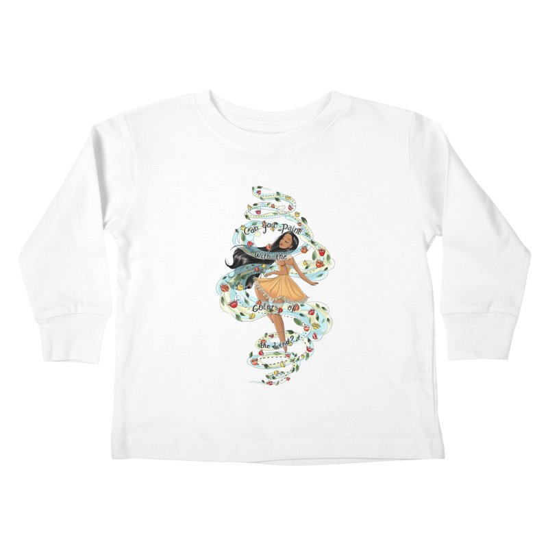 colors of the wind Kids Toddler Longsleeve T-Shirt by kktty's Artist Shop