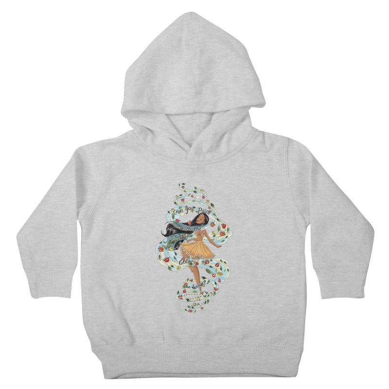 colors of the wind Kids Toddler Pullover Hoody by kktty's Artist Shop