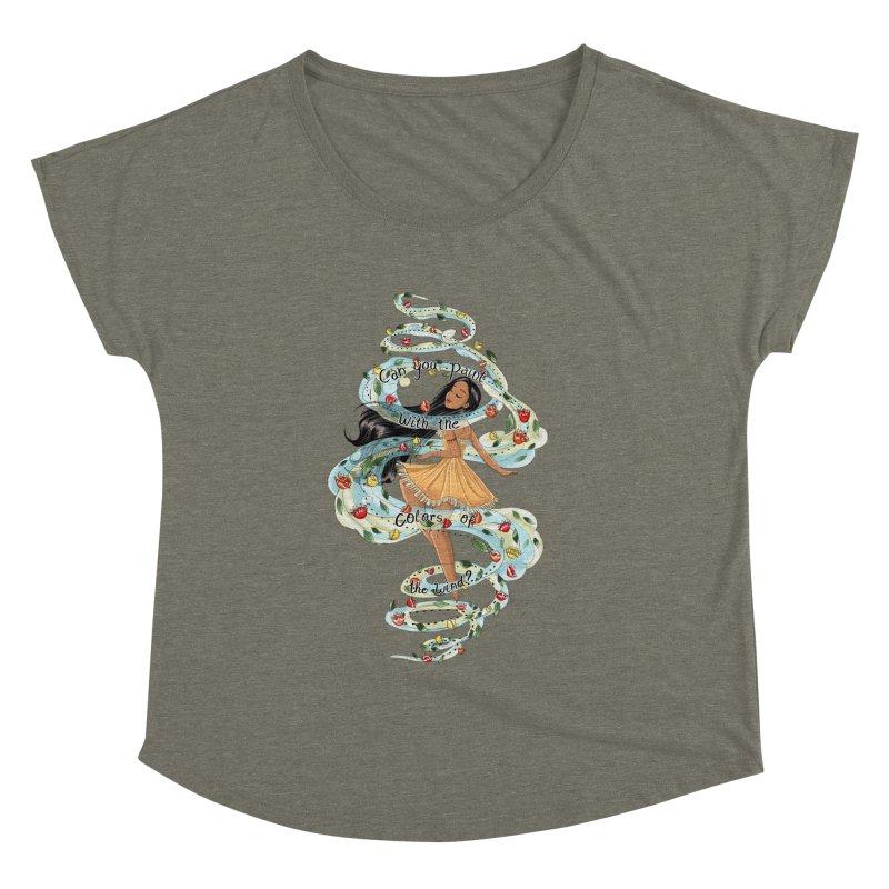 colors of the wind Women's Dolman by kktty's Artist Shop
