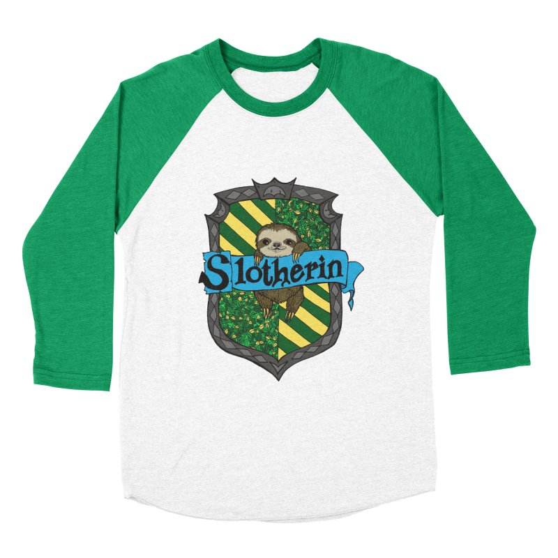 Slotherin Women's Baseball Triblend T-Shirt by klarasvedang's Shop